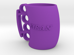 Cofee Mug Kiran1 in Purple Strong & Flexible Polished