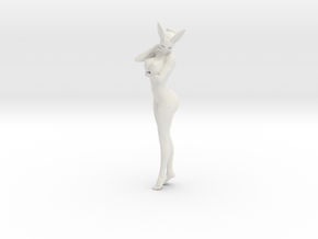 Bunny lady 007 1/10 in White Strong & Flexible