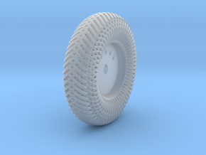 Left-Back Meshed Wheel in Frosted Ultra Detail