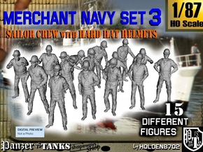 1-87 Merchant Navy Set 3 in Frosted Ultra Detail