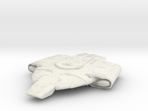"""Defiant Class  1"""" in White Strong & Flexible"""