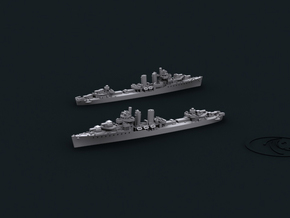 1/4800 US DD Farragut [1944] (x4) in Frosted Ultra Detail
