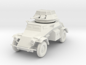 PV133A Sdkfz 222 Armored Car (28mm) in White Strong & Flexible
