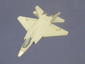1/285 (6mm)  J-31 Falcon Eagle in White Strong & Flexible
