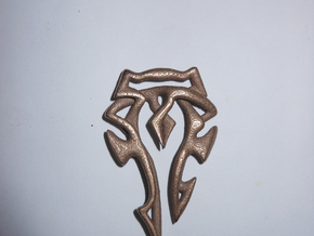 Horde Pendant in Red Strong & Flexible Polished
