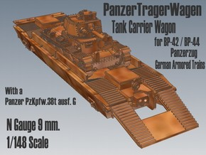 1-148 Pz-Tr-W+ PzKpfw 38t For BP-42 in Frosted Ultra Detail