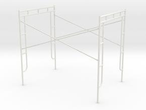 1:24 Assembly 60x84x76 in White Strong & Flexible