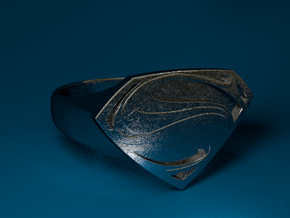 Man Of Steel - Ring in Stainless Steel