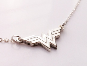 Wonder Woman Necklace in Stainless Steel