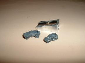 SdKfz 247A+B Set of 5 1/285 6mm in Frosted Ultra Detail