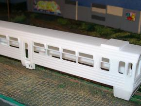 Mbxd2 - 001 railcar body, HOe scale in White Strong & Flexible