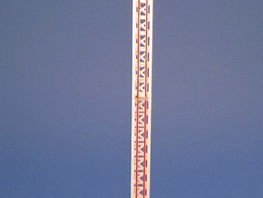 Power Tower - 1:220 (z scale) in White Strong & Flexible