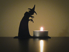 Tea Light Wicked Witch in Black Strong & Flexible