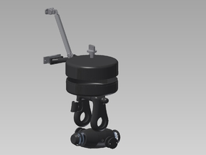 EC 155 Trakkabeam Search Light Assembly in White Strong & Flexible