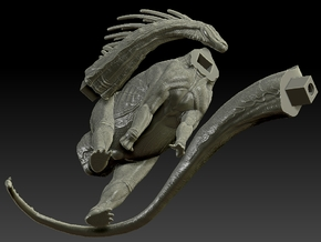 1/20 Amargasaurus - Head Kit ONLY in White Strong & Flexible