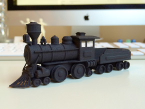 Locomotive in Black Strong & Flexible