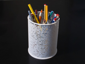 Pi Pen Holder large in White Strong & Flexible