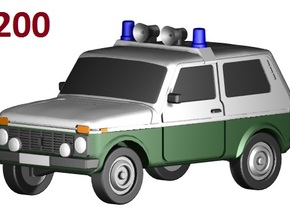 Lada-Niva VoPo (1:200) in Frosted Ultra Detail