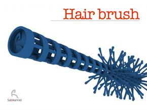 Spiral-hair brush in White Strong & Flexible