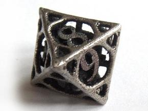 Cage Die8 in Stainless Steel