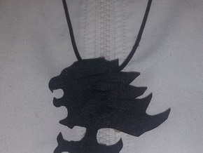 Final Fantasy 8 Griever Pendant in Black Strong & Flexible