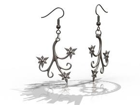 Flora Earrings - FishHooks in Stainless Steel