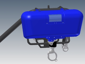 EC 155 Winch for Police Helicopter in White Strong & Flexible