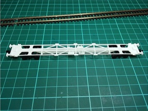 8 * KFA Wagon N Gauge 1:148 in Frosted Ultra Detail