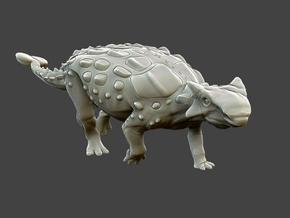 Ankylosaurus Krentz in White Strong & Flexible