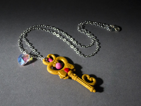 Sailor Moon Key Of Time 2.5in in White Strong & Flexible