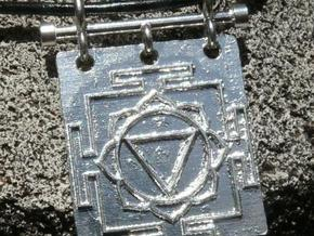 Tara Yantra Pendant in Stainless Steel