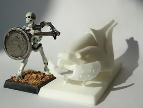28mm Hover Bike in White Strong & Flexible