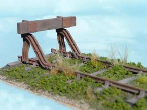 T.W.Ward No. 11b Buffer Stop in White Strong & Flexible