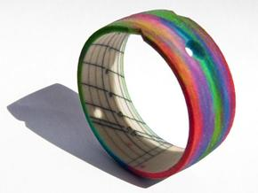 Sundial Bangle in Full Color Sandstone