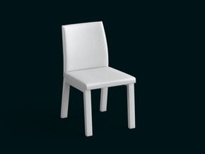 1:10 Scale Model - Chair 05 in White Strong & Flexible