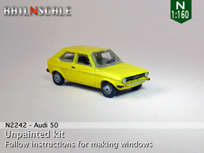 Audi 50 (N 1:160) in Frosted Ultra Detail