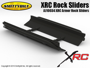 AJ10034 Smittybilt XRC Armor Rock Sliders in Black Strong & Flexible