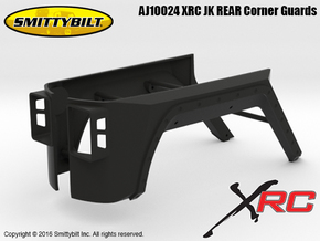 AJ10024 Smittybilt XRC JK REAR Corner Guards in Black Strong & Flexible