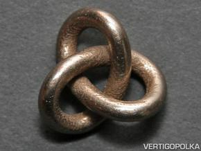 Trefoil Knot 1inch in Stainless Steel