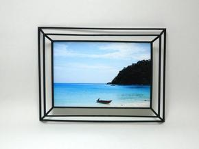 3D Photo Frame in Black Strong & Flexible