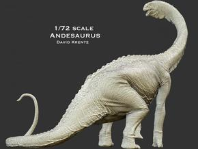 Andesaurus 1/72 Krentz  in White Strong & Flexible