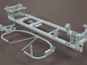 TDR 427 Roadster Frame Kit in White Strong & Flexible