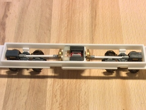 Kawasaki LRV chassis for IHP model in White Strong & Flexible