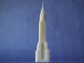Chrysler Building in White Strong & Flexible