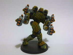 Mech suit with missile pods (11) in Full Color Sandstone