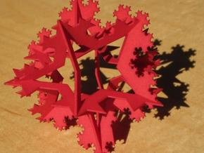 Koch Ornament, small in Red Strong & Flexible Polished