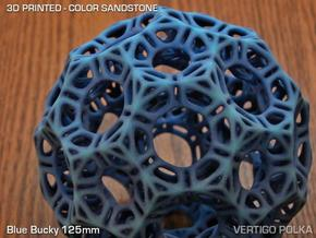 Blue Bucky 125mm in Full Color Sandstone