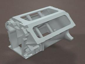 1/12 Scale 426 Hemi block in White Strong & Flexible
