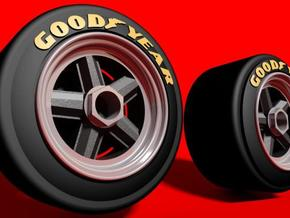 dNano 917 wheels and accessories in White Strong & Flexible
