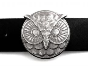 Owl Buckle (ready to use) in Stainless Steel
